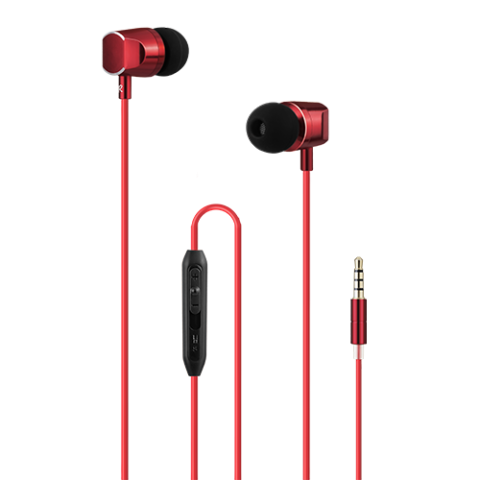 Wesdar Headset Stereo Red