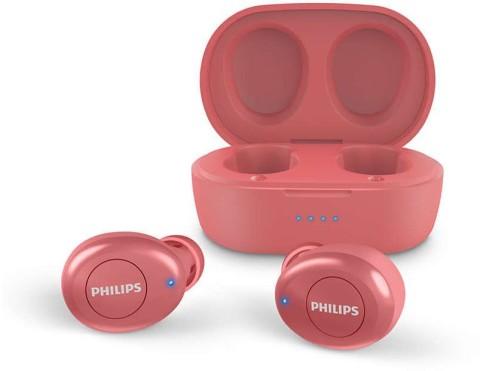 Kufje Buds Philips Tat2205Rd/00 | Wireless Ipx4 Splash In-Ear Red