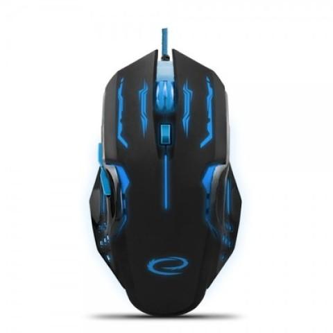 Mouse Gaming Esperanza Scorpion Emg203B | 6D Black/Blue