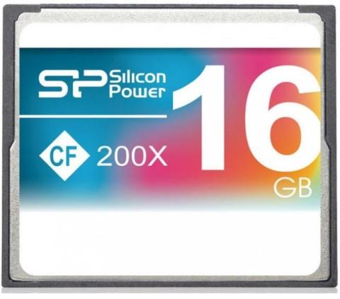 Cf Card Sp 16Gb  Hi Speed 200X Retail Pack