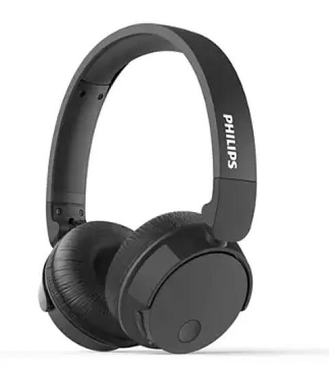 Kufje Philips Tabh305Bk/00   Wireless Bass Anc Mic Black
