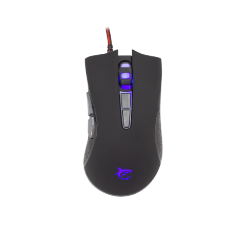 Mouse White Shark Gm-1601 Spartacus Red
