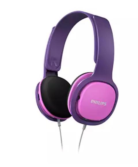 Kufje Kids Philips Shk2000Pk/00 | Pink