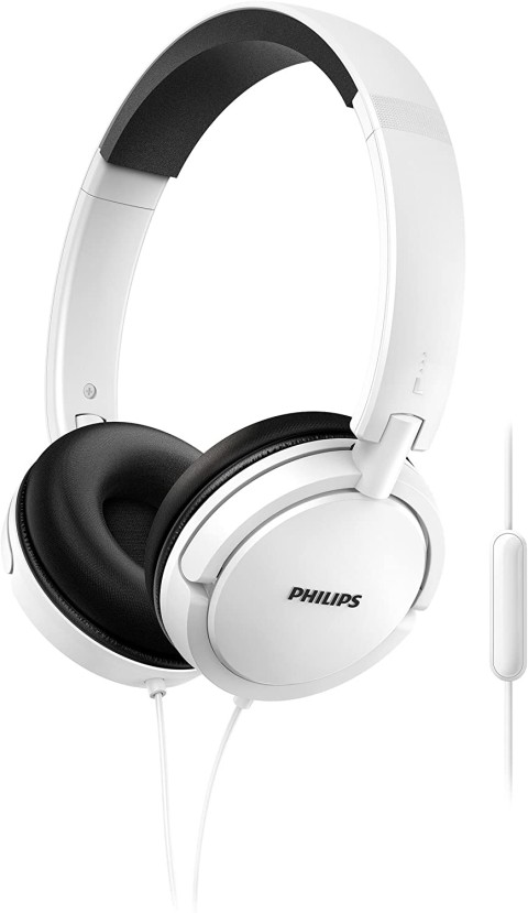 Kufje Philips Shl5005Wt/00   Mic White