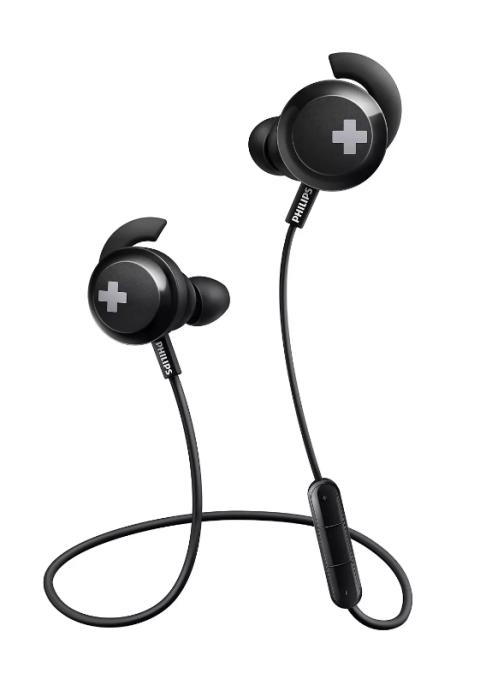 Kufje Philips Shb4305Bk/00 | Wireless Bass+ Mic In-Ear Black