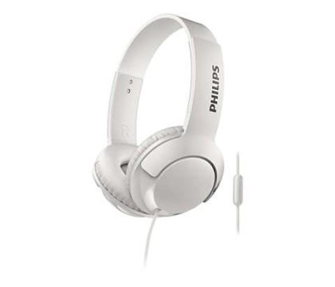 Kufje Philips Shl3075Wt/00   Bass+ Mic White