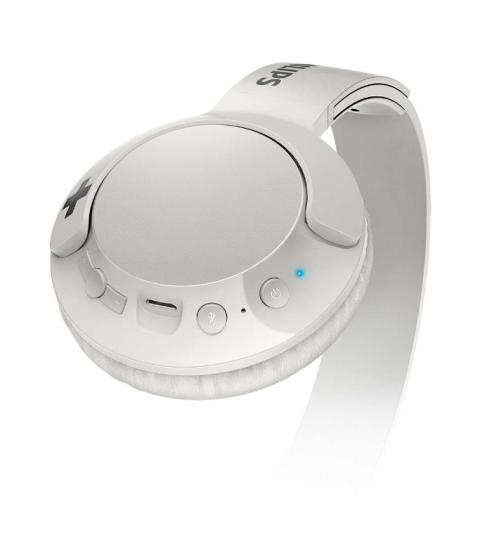 Kufje Philips Shb3075Wt/00 | Wireless Bass+ Mic White