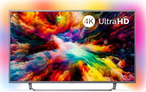 "Televizor Philips 50Pus7303/12 | 50"" Led Uhd 4K Smart Tv Android Ambilight"