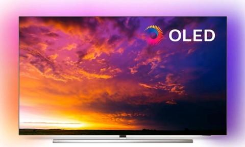 "Televizor Philips 55Oled854/12 | 55"" Oled Uhd 4K Smart Tv Android Ambilight"