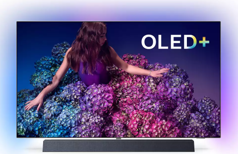 "Televizor Philips 65Oled934/12 | 65"" Oled+ Uhd 4K Smart Tv Android Ambilight"